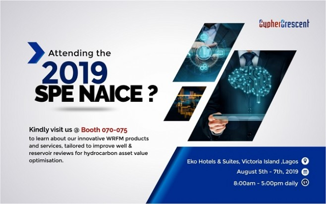 Exhibiting SEPAL WRFM Solutions live at SPE NAICE 2019